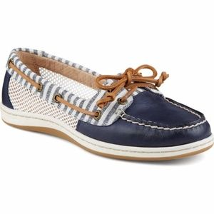 Sperry Top Sider Firefish Stripe Mesh Boat Shoes